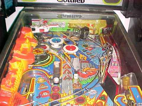 rescue 911 pinball machine