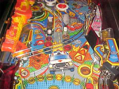 1994 Gottlieb Premier Rescue 911 pinball rubber ring kit