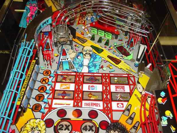 WILLIAMS ROLLERGAMES ROLLER GAMES pinball machine Translite replacement