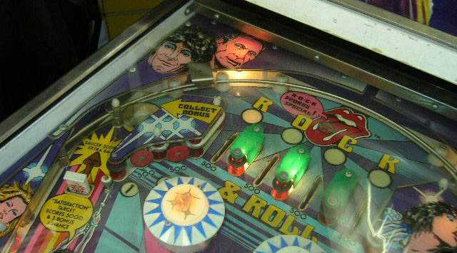 Rolling Stones Pinball By Bally Of 1979 At Www