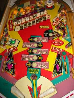 royal flush pinball machine for sale