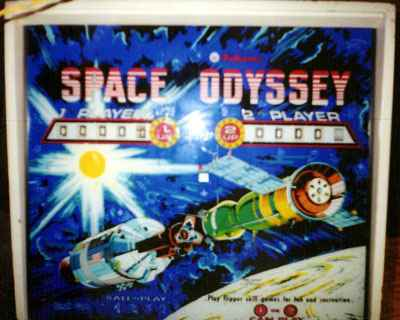 Space Mission Pinball Backglass - Pics about space