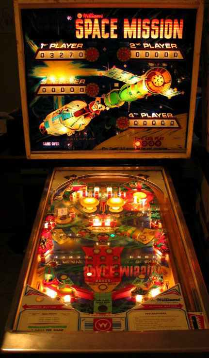 Space Mission Pinball By Williams Of 1976 At Www