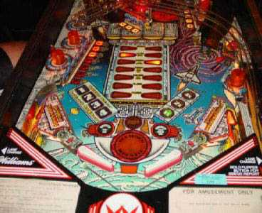 Space Station Pinball Machine by Williams of 1987 at www ...