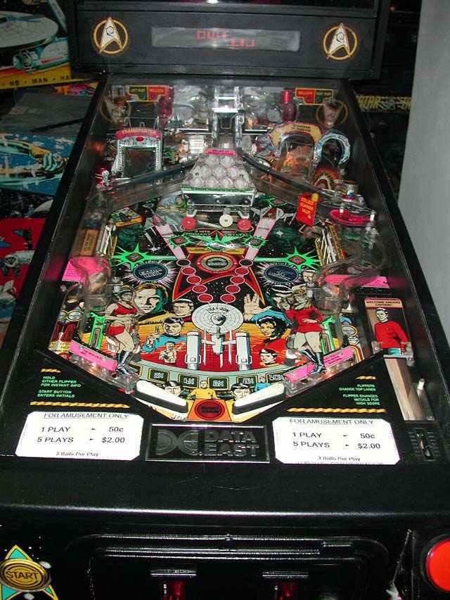Star Trek 25th Anniversary Edition Pinball By Data East Of