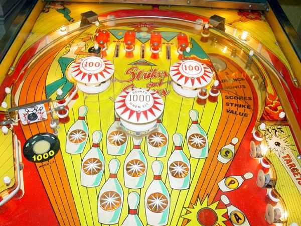 Strikes And Spares Pinball of 1977 by Bally at www pinballrebel com