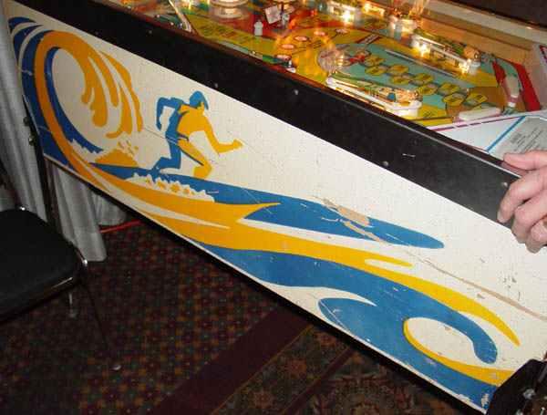 surfer pinball machine for sale