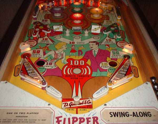 Swing Along Pinball By Gottlieb Of 1963 At Www