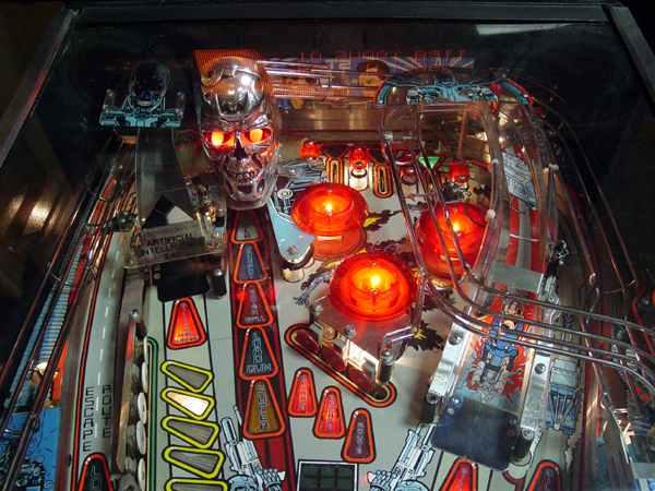 terminator 2 pinball machine
