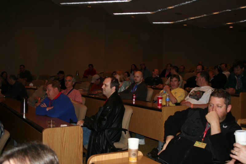The audience for the seminars