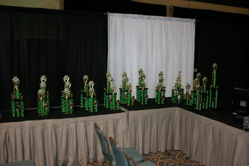 All the trophies
