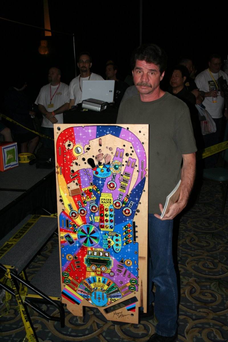Scott with his playfield prize