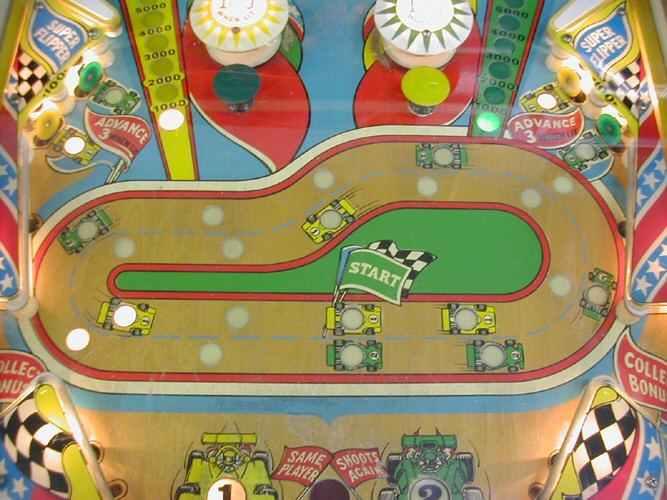 1974 bally twin win pinball machine