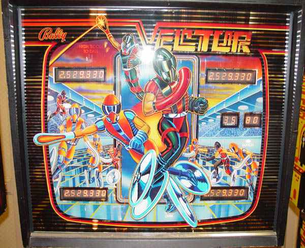 bally vector pinball machine