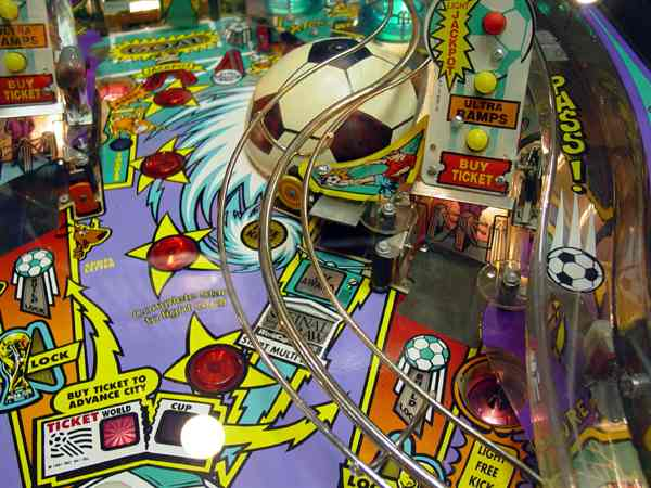 World Cup Soccer - Pinball Machine Image
