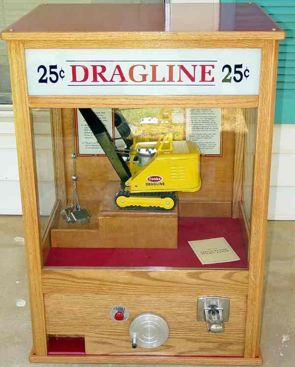 Ken's Carnival Tonka Digger Dragline Crane Arcade At www