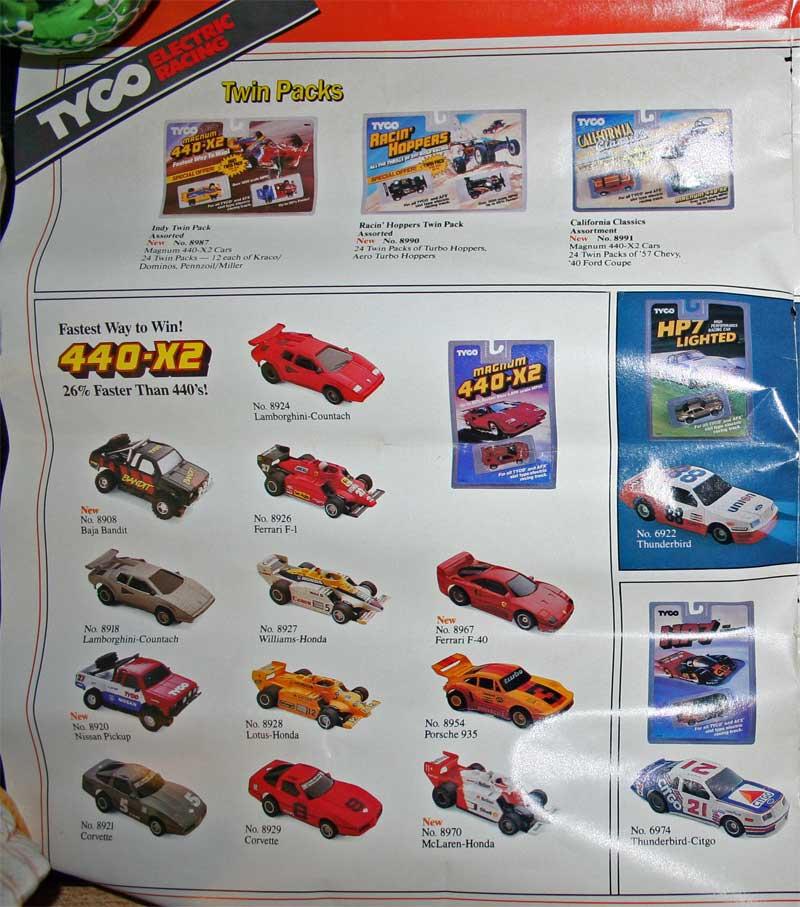 Tyco Slot Car Literature Collection At Www.pinballrebel.com