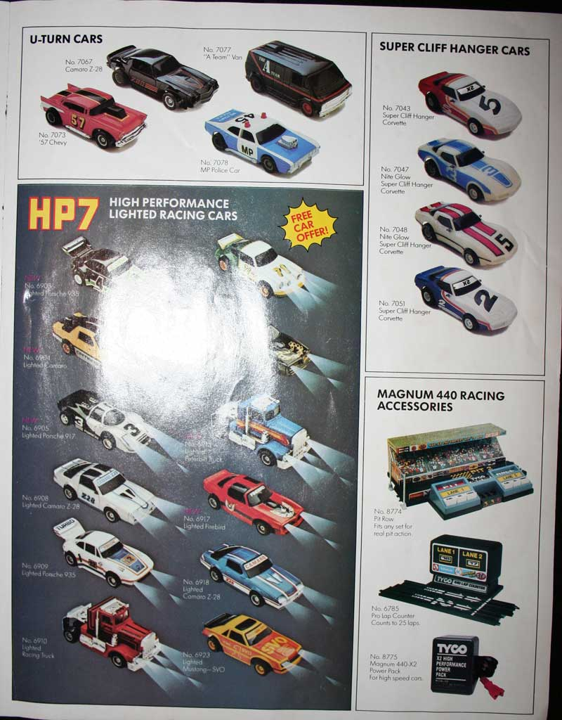 Tyco Slot Car Literature Collection At Www