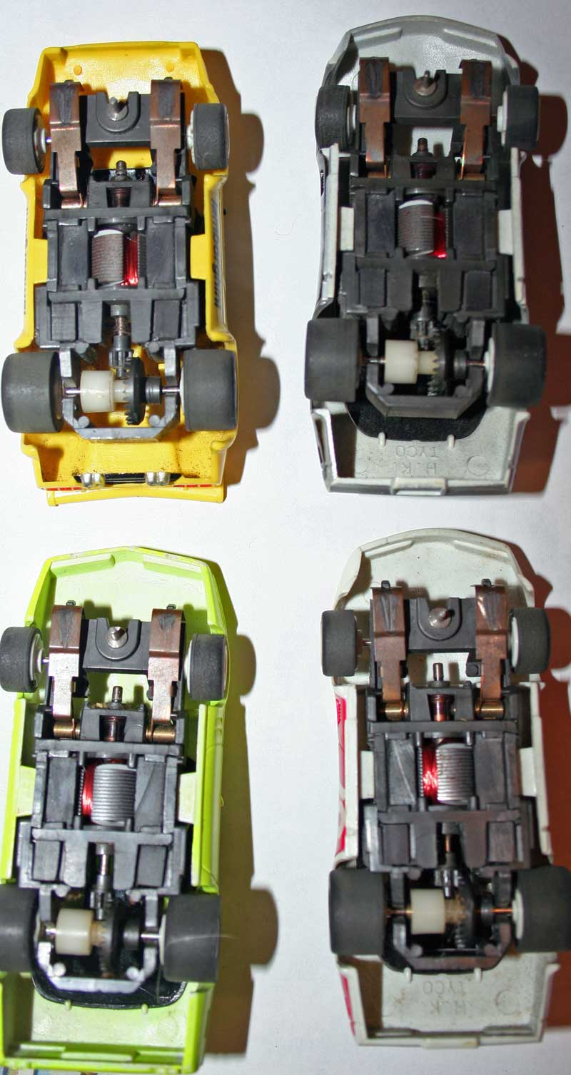 types of slot cars