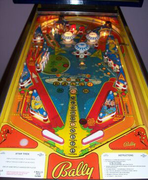 Star Trek Pinball By Bally 1978 At Www Pinballrebel Com