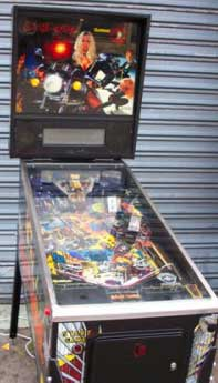 barb wire pinball by gottlieb of 1996 at www pinballrebel