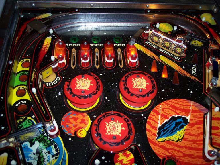 blackout pinball machine