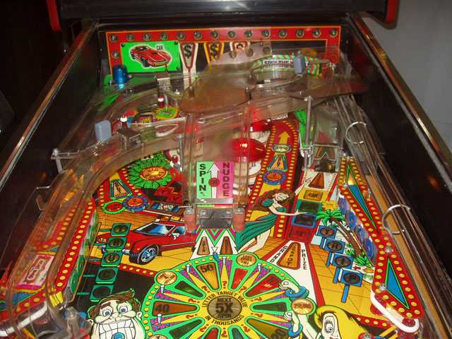 Pinball Machine Layout