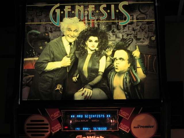 genesis pinball machine