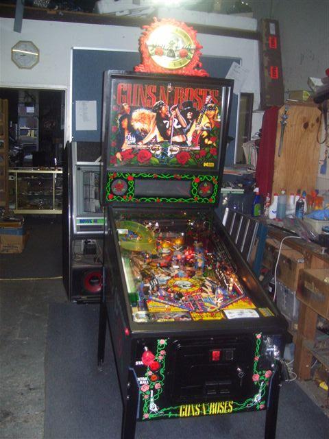 guns and roses pinball machine
