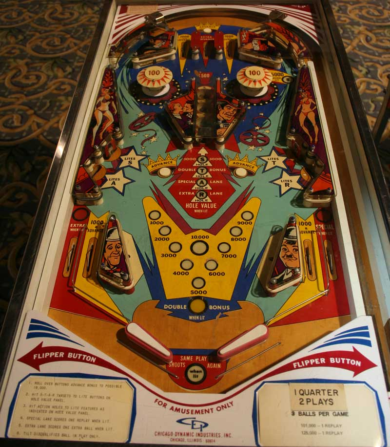 Hollywood Pinball By Chicago Coin Of 1976 At Www