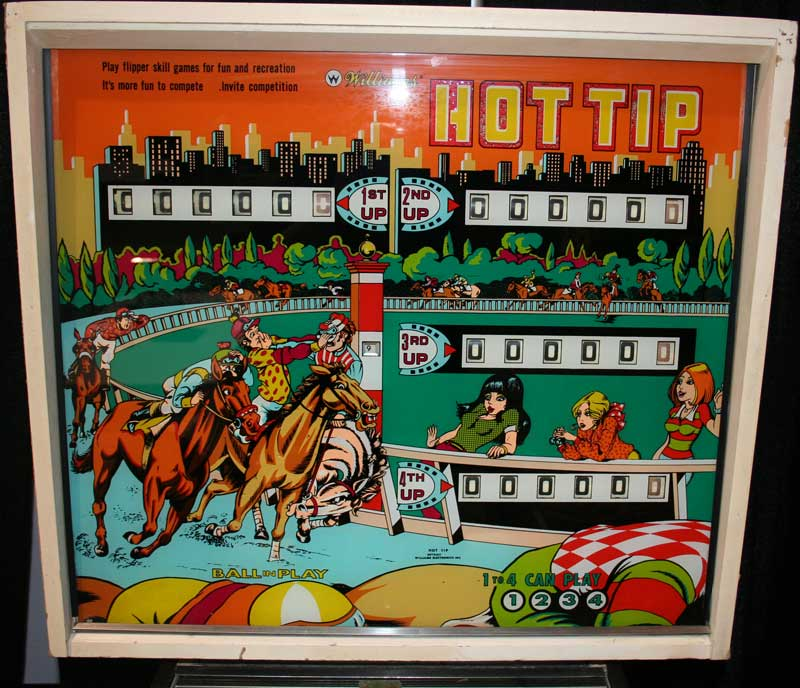 Hot Tip Pinball By Williams Of 1977 At Www Pinballrebel Com