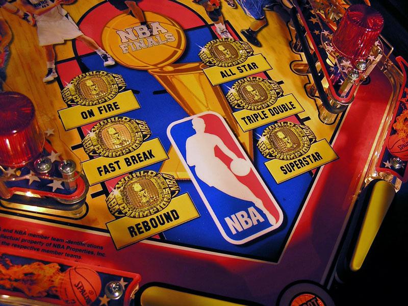 basketball pinball machine