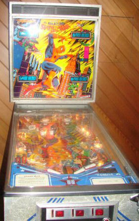 The Amazing Spider Man Pinball By D Gottlieb Amp Company