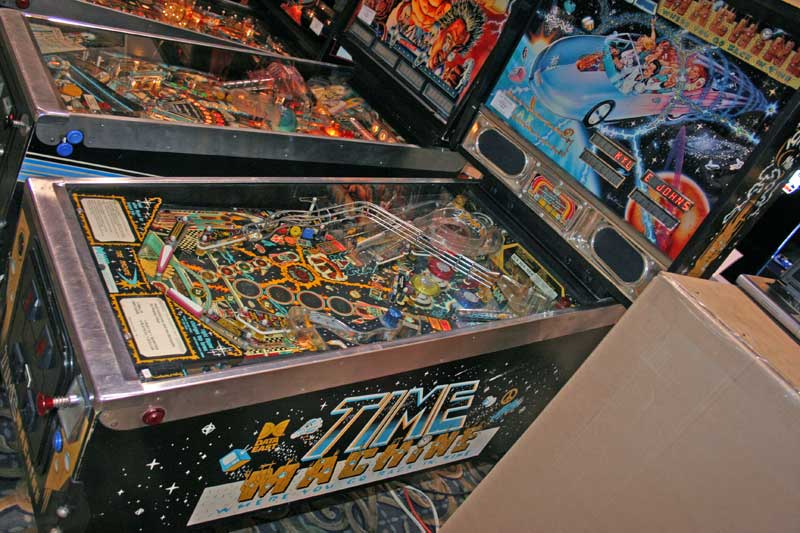 Time Machine Pinball By Data East Of 1988 At Www