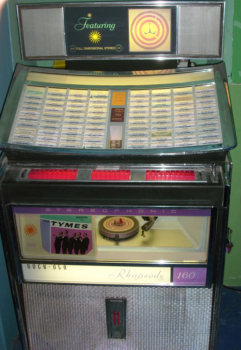 Rockola rhapsody 2 jukebox Manual