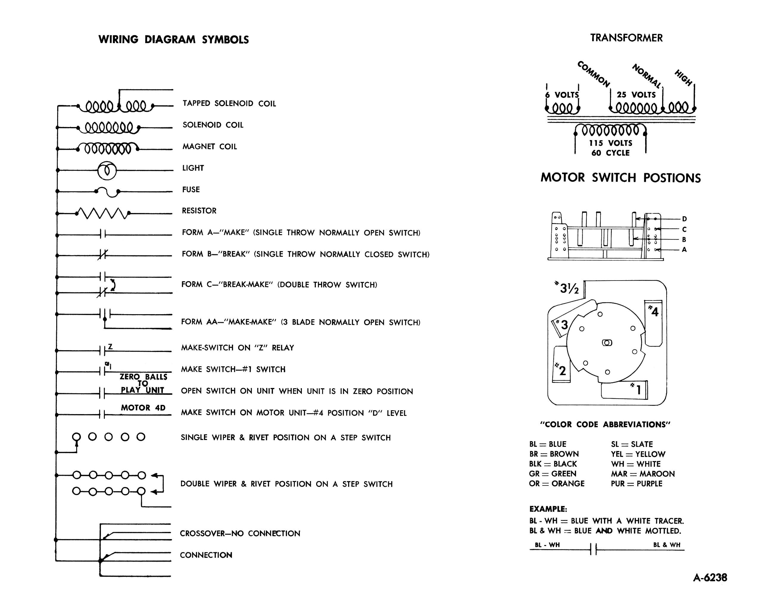 Electrical Line Diagram Symbols Pinball Wiring Diagrams Fe Online Stampede Sterns Gottlieb Score And Instruction